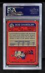 1973 Topps #336  Bob Chandler  Back Thumbnail