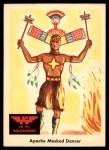 1959 Fleer Indian #51   Apache Masked Dancer Front Thumbnail