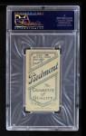 1909 T206 CAP Doc Crandall  Back Thumbnail