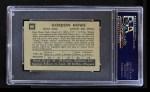 1952 Parkhurst #88  Gordie Howe  Back Thumbnail