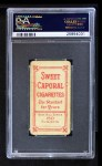 1909 T206 CUBS Johnny Evers  Back Thumbnail