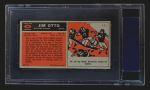 1965 Topps #145  Jim Otto  Back Thumbnail