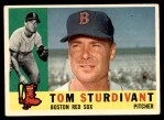 1960 Topps #487  Tom Sturdivant  Front Thumbnail