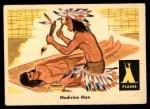 1959 Fleer Indian #15   Medicine Man Front Thumbnail