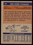 1972 Topps #204  Jim Ligon   Back Thumbnail