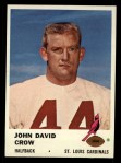 1961 Fleer #23  John David Crow  Front Thumbnail