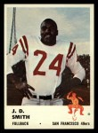 1961 Fleer #60  J.D. Smith  Front Thumbnail