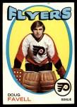 1971 Topps #72  Doug Favell  Front Thumbnail