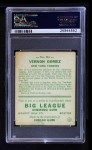 1933 Goudey #216  Lefty Gomez  Back Thumbnail