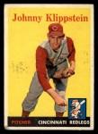 1958 Topps #242  Johnny Klippstein  Front Thumbnail