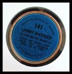 1971 Topps Coins #141  Larry Dierker  Back Thumbnail