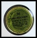 1971 Topps Coins #32  Jim Rooker  Back Thumbnail