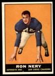 1961 Topps #172  Ron Nery  Front Thumbnail