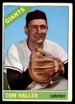 1966 Topps #308  Tom Haller  Front Thumbnail