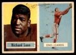 1957 Topps #85  Dick Lane  Front Thumbnail