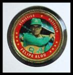 1971 Topps Coins #8  Felipe Alou  Front Thumbnail