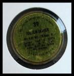 1971 Topps Coins #39  Julian Javier  Back Thumbnail
