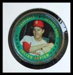 1971 Topps Coins #39  Julian Javier  Front Thumbnail