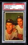1953 Bowman #93  Phil Rizzuto / Billy Martin  Front Thumbnail