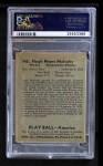 1939 Play Ball #145  Hugh Mulcahy  Back Thumbnail