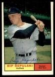 1961 Topps #128  Rip Repulski  Front Thumbnail
