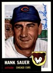 1953 Topps Archives #111  Hank Sauer  Front Thumbnail