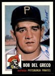 1953 Topps Archives #48  Bobby Del Greco  Front Thumbnail