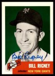 1953 Topps Archives #328  Bill Rigney  Front Thumbnail