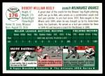1954 Topps Archives #176  Bob Keely  Back Thumbnail