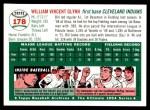 1954 Topps Archives #178  Bill Glynn  Back Thumbnail
