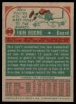 1973 Topps #217  Ron Boone  Back Thumbnail