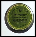 1971 Topps Coins #12  Jim Perry  Back Thumbnail