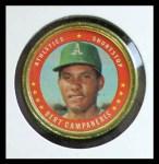 1971 Topps Coins #64  Bert Campaneris  Front Thumbnail