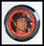 1971 Topps Coins #58  Carl Yastrzemski  Front Thumbnail