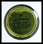 1971 Topps Coins #4  Jim Spencer  Back Thumbnail