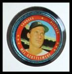 1971 Topps Coins #94  Mel Stottlemyre  Front Thumbnail
