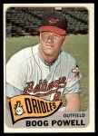 1965 Topps #560  Boog Powell  Front Thumbnail
