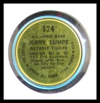 1964 Topps Coins #124   -   Jerry Lumpe All-Star Back Thumbnail