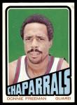 1972 Topps #190  Donnie Freeman   Front Thumbnail