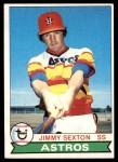 1979 Topps #232  Jimmy Sexton  Front Thumbnail