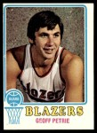 1973 Topps #175  Geoff Petrie  Front Thumbnail