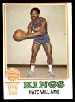 1973 Topps #54  Nate Williams  Front Thumbnail