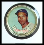 1964 Topps Coins #57  Tommy Davis  Front Thumbnail