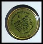 1964 Topps Coins #3  Johnny Orsino  Back Thumbnail