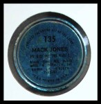 1971 Topps Coins #135  Mack Jones  Back Thumbnail