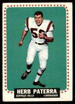 1964 Topps #33  Herb Paterra  Front Thumbnail