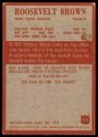 1965 Philadelphia #115  Roosevelt Brown  Back Thumbnail
