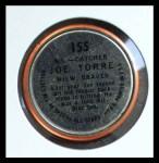1964 Topps Coins #155   -  Joe Torre All-Star Back Thumbnail