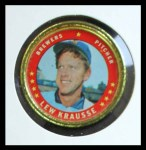 1971 Topps Coins #20  Lew Krausse  Front Thumbnail