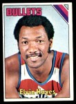 1975 Topps #60  Elvin Hayes  Front Thumbnail